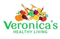 Veronica's Healthy Living Sticky Logo