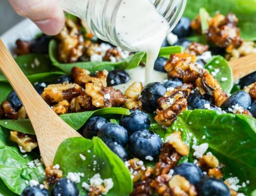 Superfood Blueberry Spinach Salad