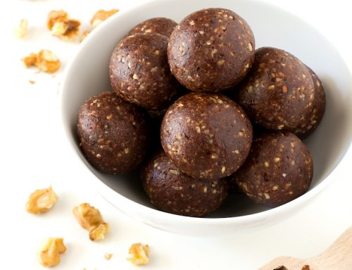 Raw Cacao and Date Nut Bites