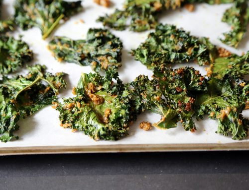 Cheezy Kale Chips Recipe
