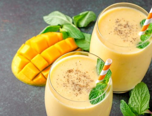 Mango Lassi With a Twist!