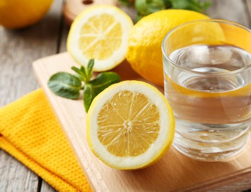 Weight Loss Tip #7- Add Lemon To Water